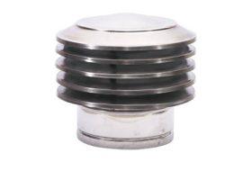 Huzatszabályozó kémény kalap 150 mm-es