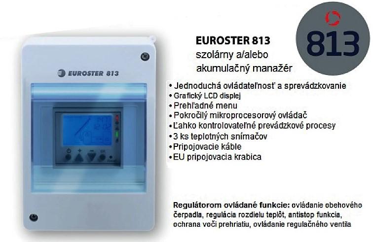 Euroster 813 regulátor