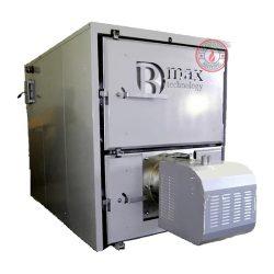 Celsius B-max boiler with 500 kW pellet burner