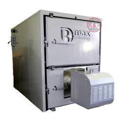 Celsius B-max boiler with 500 kW pellet burner