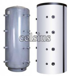Celsius insulated buffer tank 2000l