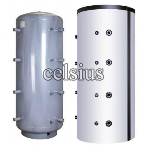 Celsius insulated buffer tank 500l