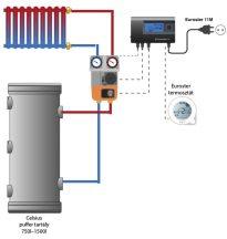 """Sistem secundar de încălzire electronic cu un circuit 5/4"""""""
