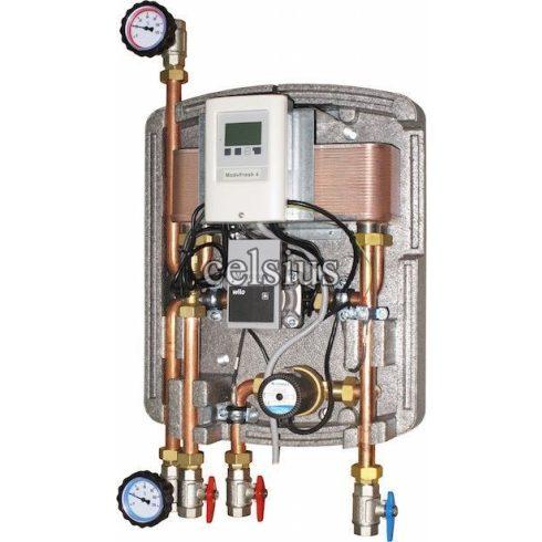 Modul Celsius pentru apă caldă potabilă cu comandă electronică de 20l/min