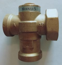 Boiler protection valve Kvs: 7,2