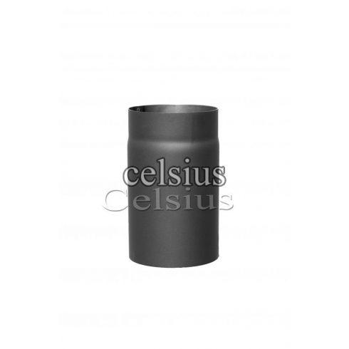 Steel flue 25 cm - 132 mm