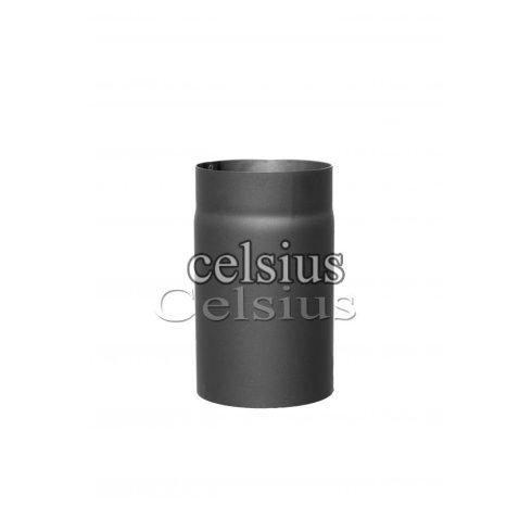 Steel flue 25 cm - 180 mm