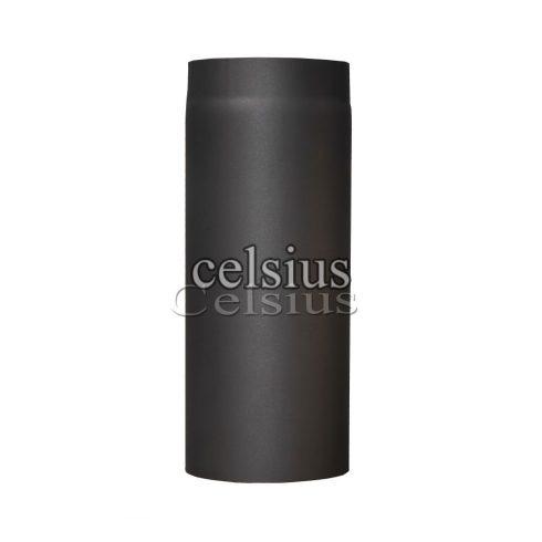 Steel flue 50 cm - 180 mm