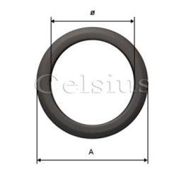 Inel din oţel acoperire tub de flacără - 120 mm