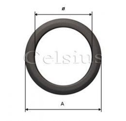 Steel flue covering ring - 180 mm