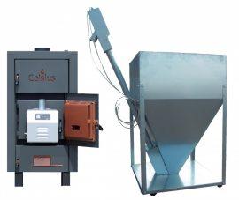 Celsius Combi Pellet/Fa tüzelésű berendezés 50-56 (Égő 50kW)