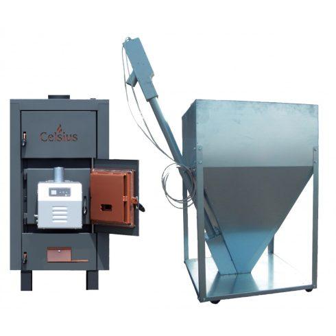 Celsius Combi Pellet/Fa tüzelésű berendezés 40-43 (Égő 50kW)