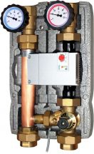 """Pump unit with electronic mixing valve 5/4"""" - 1-8"""