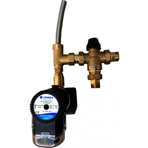 Scald protection valve with timer circulation pump Kvs 4
