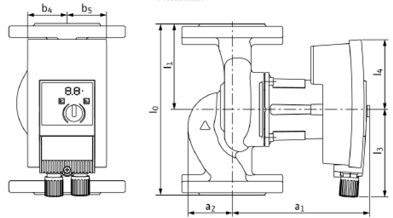 Wilo keringető szivattyú, 300 kW