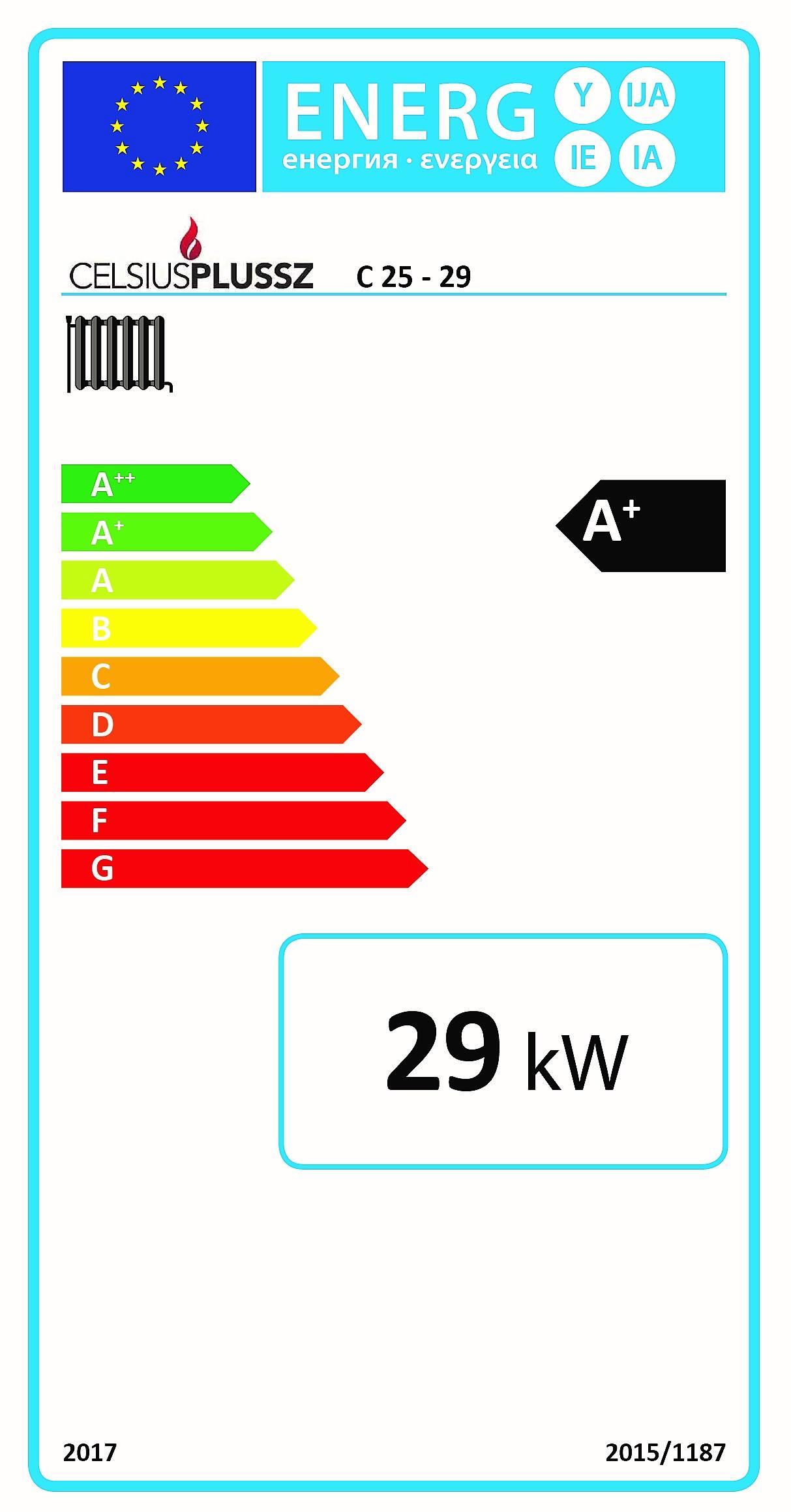 Celsius C energiacímke