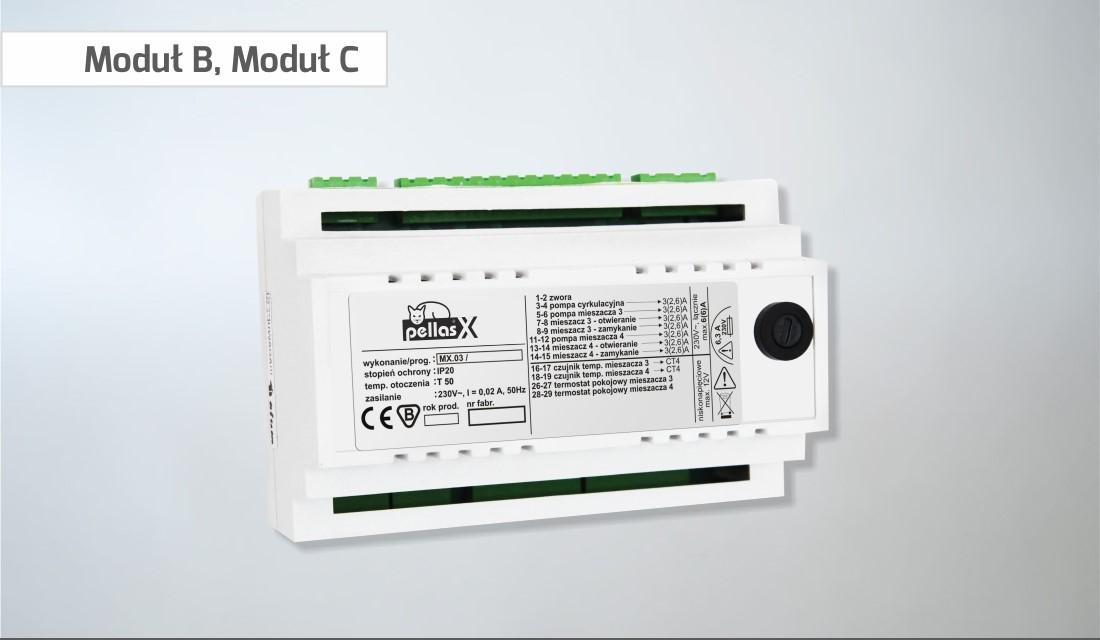 Celsius - PellasX modul B, C