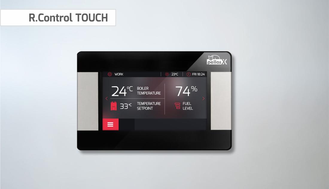 Celsius - PellasX touch control